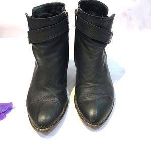 Suecomma Bonnie SBC Heel Leather Ankle Boots